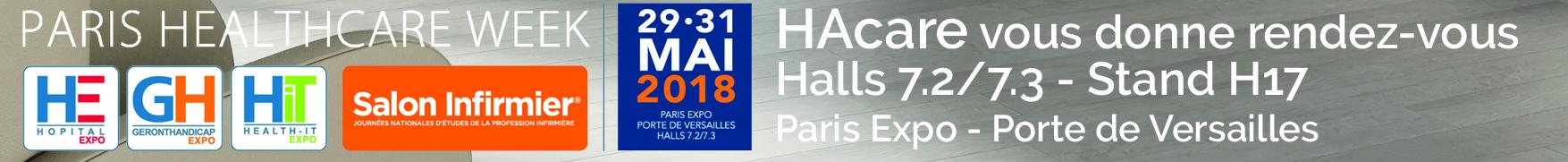 Salon Paris Healthcare Week 2018